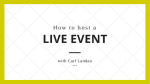 how-to-host-a-live-event