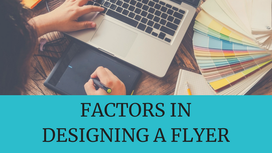 how to create a flyer for your business